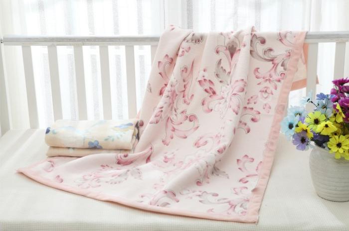 休闲毯 提花棉毯 婴儿毯