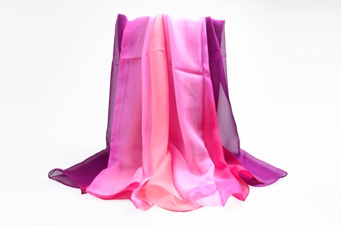 纯色女士丝巾 真丝体育万博app下载 体育万博app下载批发 印花丝巾