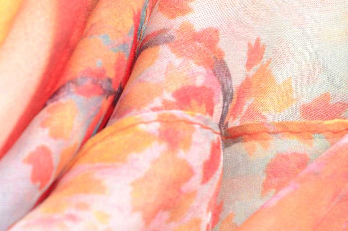 妇女节雪纺丝巾