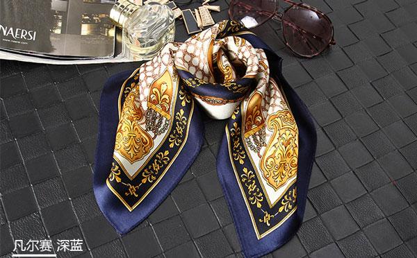 龙翔纺织丝巾产品