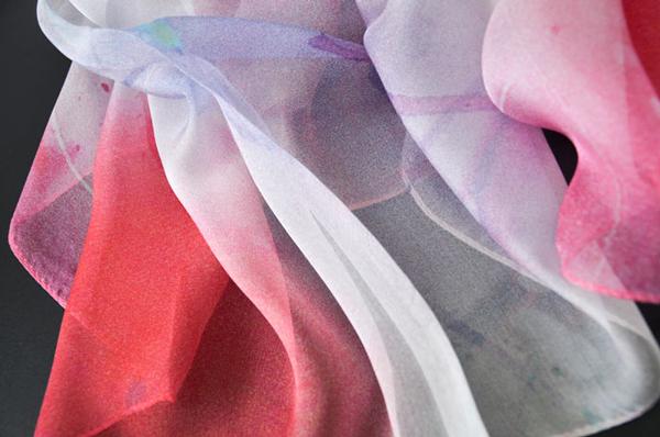 丝巾产品细节