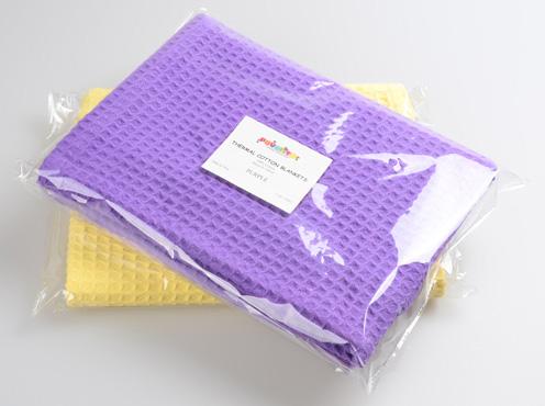 龙翔为澳大利亚供应商定制蜂巢棉毯