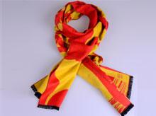龙翔纺织为人大年会定制高端礼品围巾