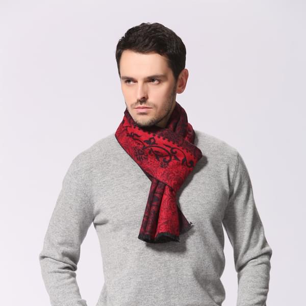 男士莫代尔围巾