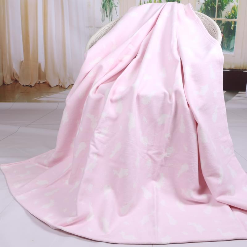 全棉提花毯空调毯子