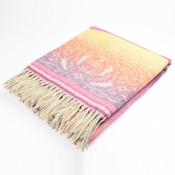 新款提花休闲毯