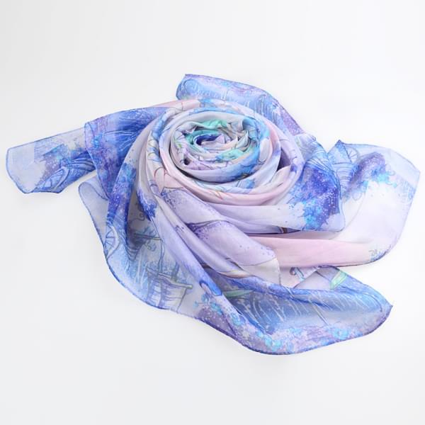 夏季防晒丝巾