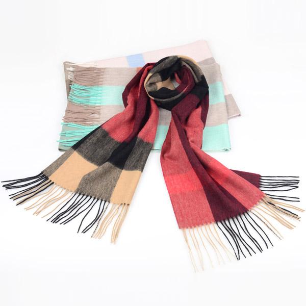 秋冬男士羊毛围巾