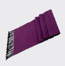 纯色真丝围巾