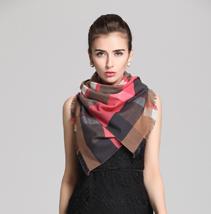 真丝色织围巾
