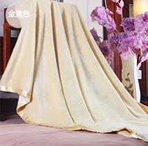 竹纤维毯子