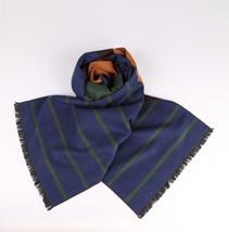 男士条纹围巾