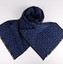 格纹提花围巾