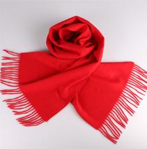 红色年会围巾