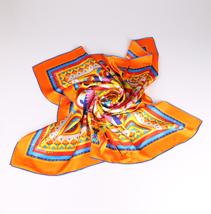 真丝印花方巾