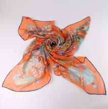 新款印花丝巾