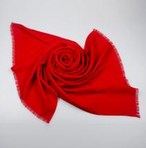 红色礼品羊毛披肩