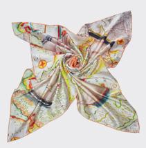 女士素绉缎围巾
