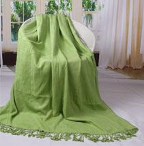 竹纤维休闲毯子