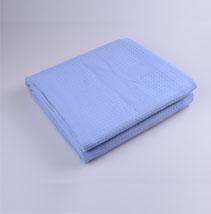 纯色棉毯盖毯