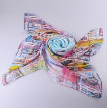 雪纺防晒丝巾
