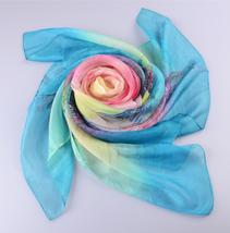 春夏雪纺丝巾