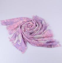 纯羊绒印花围巾