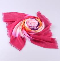 印花羊绒围巾