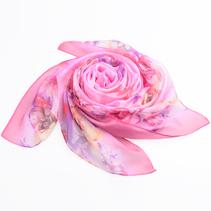 新款女士雪纺印花围巾