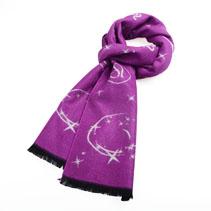 时尚提花星座围巾