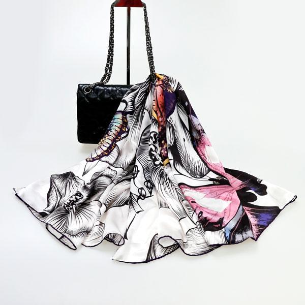 蝴蝶之梦丝巾