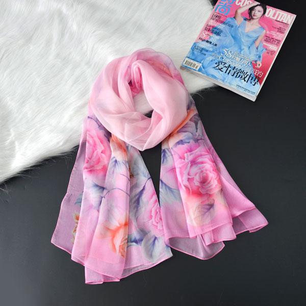 春暖花开丝巾