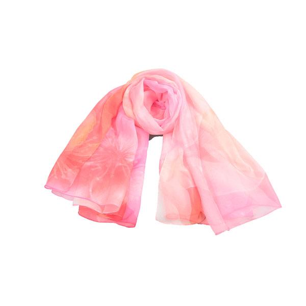 五光十色丝巾