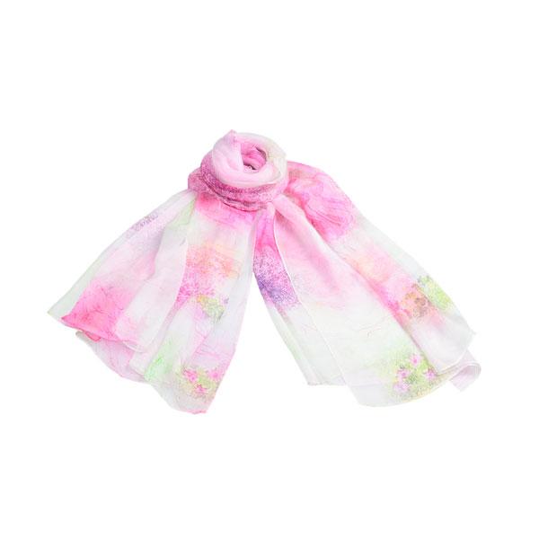 花开遍地丝巾