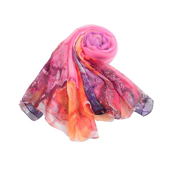 万紫千红丝巾