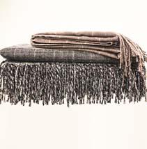 人棉流苏毯